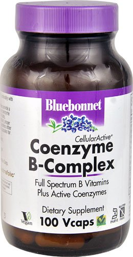 Bluebonnet Nutrition CellularActive® Coenzyme B-Complex -- 100 Vcaps® - 2PC by Blue Bonnet