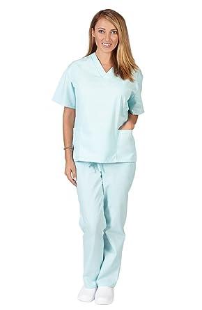 Amazon.com: Natural Uniforms Womenu0027s Scrub Set   Medical Scrub Top And  Pant: Medical Scrubs Apparel Sets: Clothing