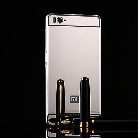 Xiaomi Mi 4i - Carcasa Lujo Espejo, Xiaomi Mi 4 C Metal ...
