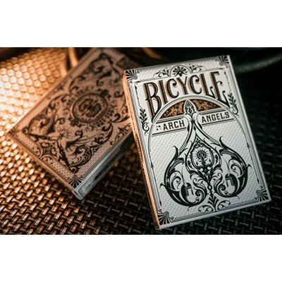 2 Decks Arch Angels Bicycle Playing Cards