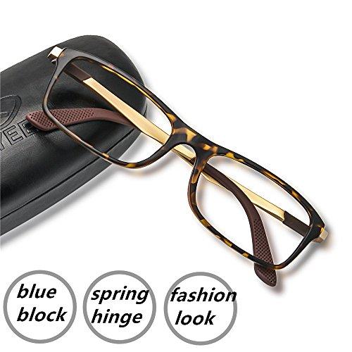 Computer Gaming Glasses Blue Light Blocking Anti Eye Strain Spring Hinge Goggles 1000+ Instagram - Parts Spring Eyeglasses Hinge