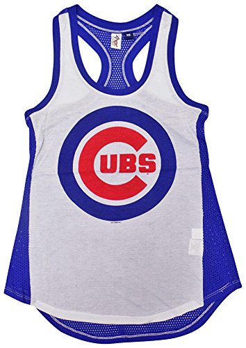 Chicago Cubs Women's Double Play Tank Top - Chicago Tops Tank Cubs