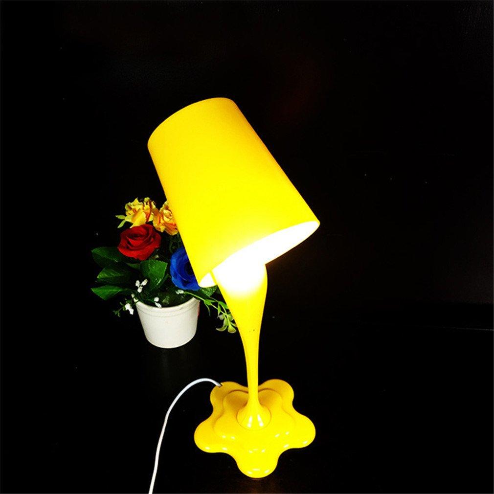 Amazon.com: Moda Que Se Derrame pintura cubeta lámpara de ...