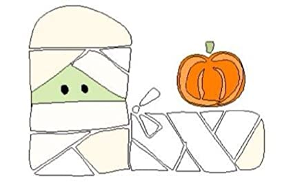 Amazoncom Brass Embossing Template Mummy Pumpkin Paper Craft