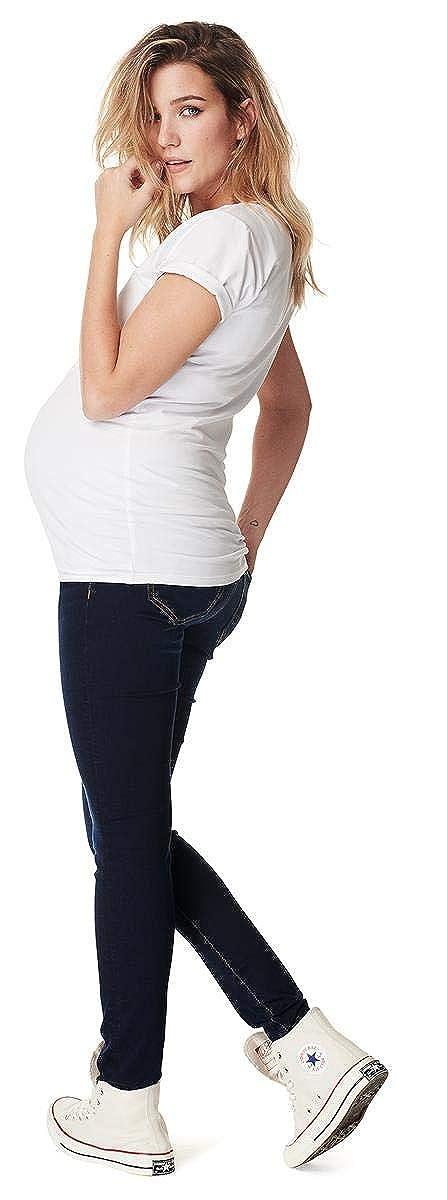 Noppies Womens Jeans OTB Jegging Ella Midnight Blue Maternity