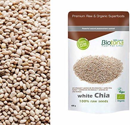 CHIA RAW SEMILLAS (BLANCA) BIOTONA 400GR: Amazon.es: Salud y cuidado personal
