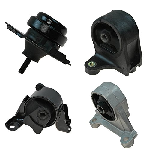 Engine Motor Transmission Mount Front Rear Kit Set of 4 for Civic Manual MT 1.7L