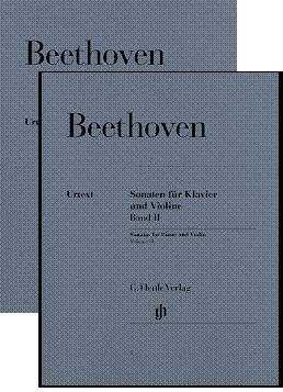 Beethoven: Sonatas for Piano and Violin, Volumes I-II (Henle Music Folios)
