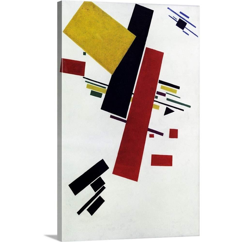 Kazimir Severinovich Malevichプレミアムシックラップキャンバス壁アート印刷題名Dynamic Suprematism 16