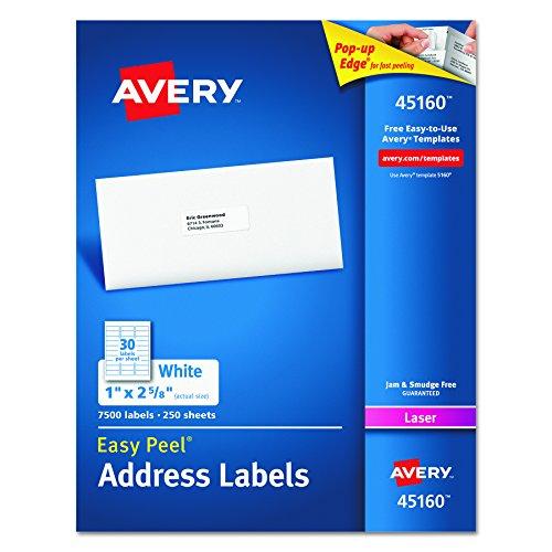 Avery Address Labels Printers 45160