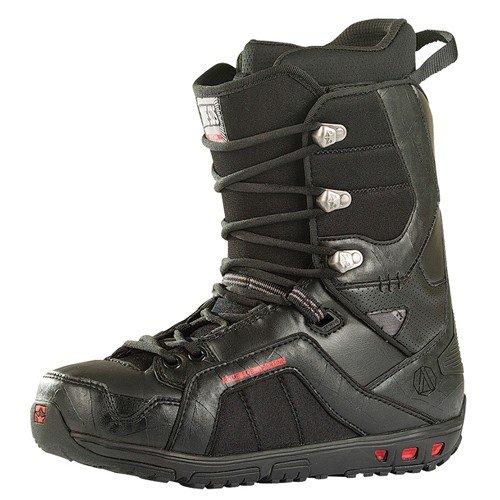 Rome Libertine Snowboard Boots Black (9) (Mens Rome Snowboard Package compare prices)