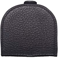 New Pierre Cardin Mens RFID Protected Coin Purse Italian Leather Black