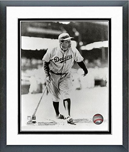Babe Ruth Brooklyn Dodgers MLB Action Photo (Size: 18