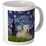 CafePress - Starry Night & Wheaten Terrier Mug - Unique Coffee Mug, Coffee Cup