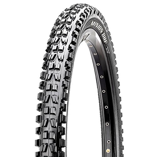 "Maxxis Minion DHF 26"" MTB tyre 26x2.50 Kevlar EXO SuperTacky black"