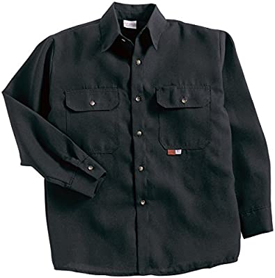 Saf-Tech FR Work Shirt - 7oz. INDURA Ultra Soft - Flame Resistant Fabric - Oil Field Ready - HRC 2 - ATPV 8.7 cal/m2 - MADE IN THE U.S.A.