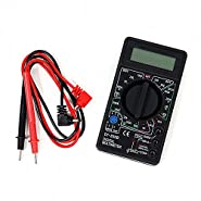 AC/DC Voltmeter DC Ammeter Ohm Tester Electrical LCD Digital Multimeter DT-830B