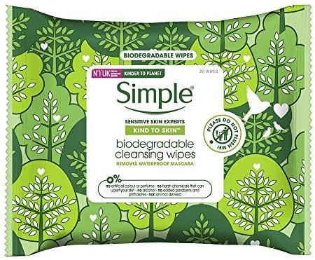 Simple Kind to Skin Toallitas faciales biodegradables ...