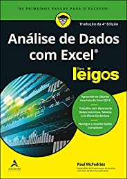 Análise de Dados com Excel Para Leigos