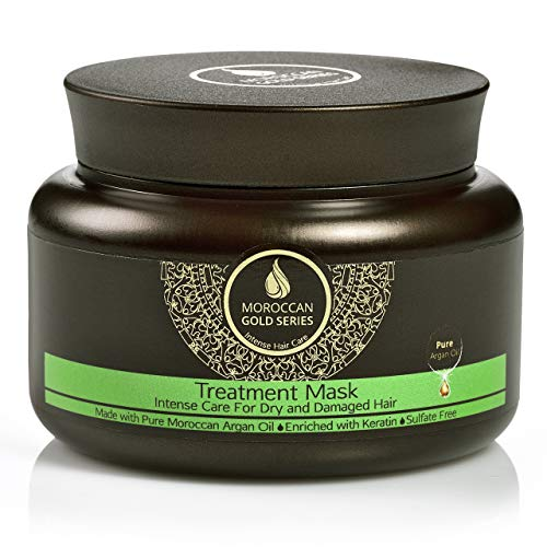 Moroccan Gold Series Treatment Pure Argan Oil Mask for Dry and Damaged Hair