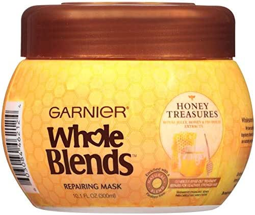 Hair Styling: Garnier Fructis Whole Blends Repairing Mask