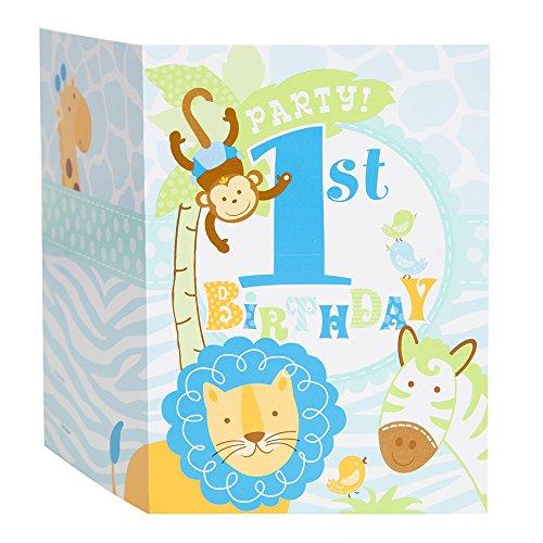 1st Birthday Boy Invitations - 1