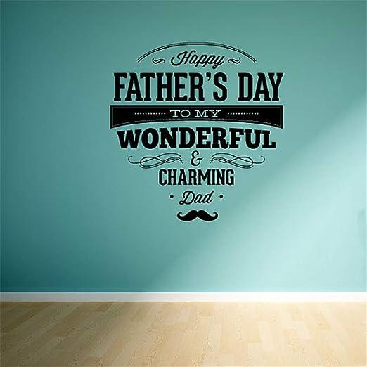Pegatina De Pared Frases Feliz Día Del Padre A Mi
