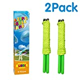 Bubble Wands,2 Pack Giant Bubble Wands,Stainless Steel Made Telescopic Design Easy Carrying