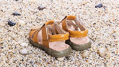 Evedaily - Zapatillas Bebé-Niños amarillo