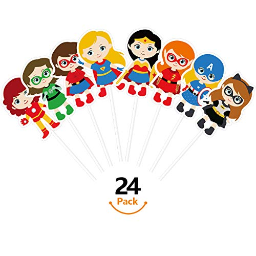 KUDES 24 Pieces Cartoon