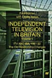 Independent Television in Britain, Paul Bonner and Lesley Aston, 0333647734