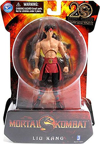Liu Kang Mortal Kombat 9 Action Figure (4 Inch) -