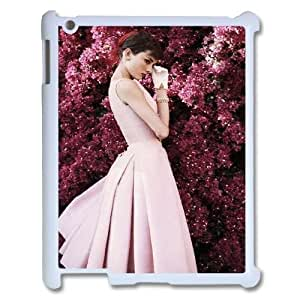 DIY Case Cover for iPad 2,iPad 3,iPad 4 w/ Audrey Hepburn Quote image at Hmh-xase (style 9)