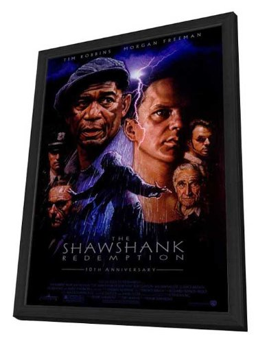 The Shawshank Redemption - 27 x 40 Framed Movie Poster by Movie Posters
