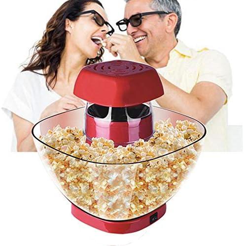 AIKKER Palomitero Maquina Palomitas de Maiz, 1200W Automática Popcorn Maker, Maquina de Hacer Palomitas Palomitero Microondas Silicona EU Plug, para la Fiesta de Navidad: Amazon.es: Hogar