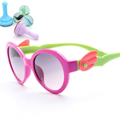 23354a66ca Childrens sunglasses Cartoon cute glasses-E  Amazon.co.uk  Clothing
