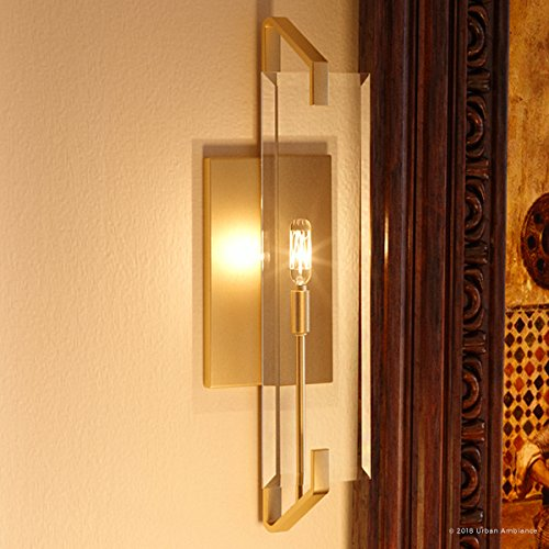 - Luxury Contemporary Wall Sconce, Small Size: 19.75
