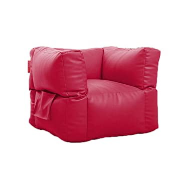 Incredible Amazon Com Sofas Square Bean Bags And Leather Pu Lazy Bralicious Painted Fabric Chair Ideas Braliciousco