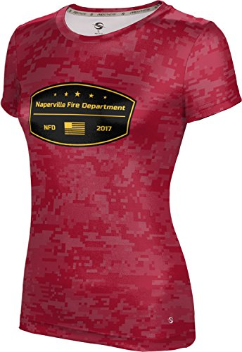 ProSphere Women's Naperville Fire Department Digital Shirt (Apparel) - Il In Naperville Shopping