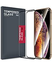 Meidom iPhone Xs Max Screen Protector Tempered Glass [2 Packs] Full Coverage, Cover Edge-to-Edge, Bubble-Free Glass Protector for iPhone Xs Max 6.5 inch