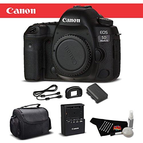 (Canon EOS 5D Mark IV Full Frame Digital SLR Camera Body Bronze Level Bundle International Version)
