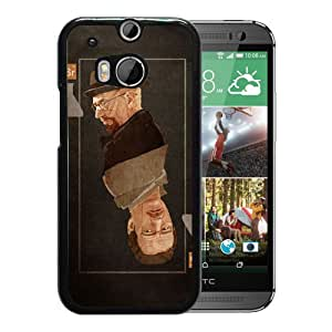 Heisenberg Card Durable High Quality HTC ONE M8 Phone Case
