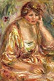 150 page lined journal Andree in a Pink Dress, 1917 Pierre Auguste Renoir: 150 page lined journal