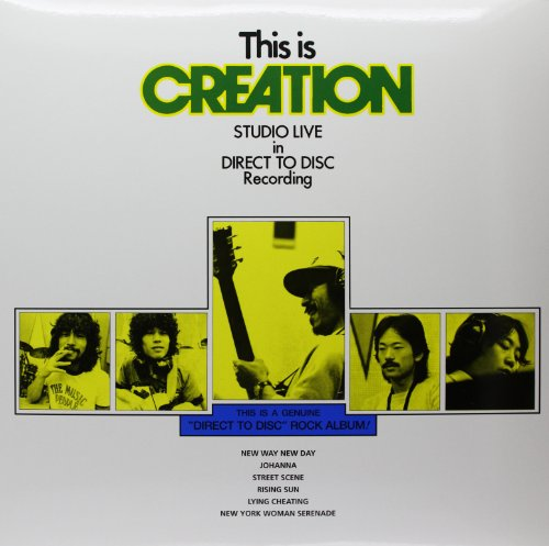 - This Is Creation: Studio Live Direct to Disc