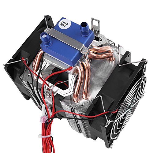 DC 12V Thermoelectric Cooler Peltier System Semiconductor Refrigeration Water Chiller Cooling Device for Fish Tank(120W (for 30L tank)) by Hilitand (Image #6)