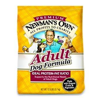 Newman's Own Adult Dog Food Formula, 12.5-Pound Bag