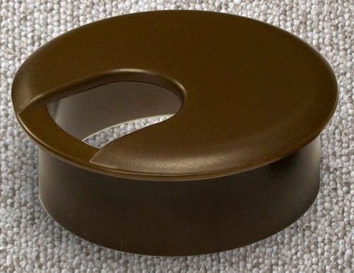 """Desk Grommet 1-3/4"""" Inner Diameter Brown"""