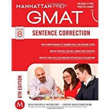 By Manhattan Prep - Sentence Correction GMAT Strategy Guide, 6th Edition (Manhattan P (6 Pap/Psc) (2014-12-17) [Paperback]