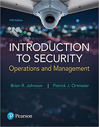 Introduction to Security: Operations and Management