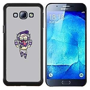 Stuss Case / Funda Carcasa protectora - Aerosol pintura Monster - Samsung Galaxy A8 A8000